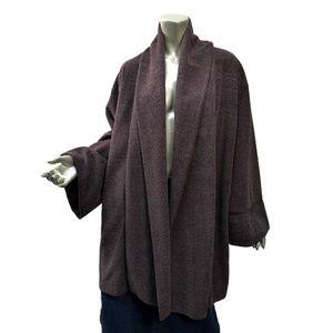 Otto Collection [Japan] Kimono Coat Cocoa Brown L